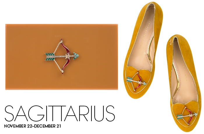 Charlotte-Olympia-Zodiac-shoes-and-bag-Sagittarius