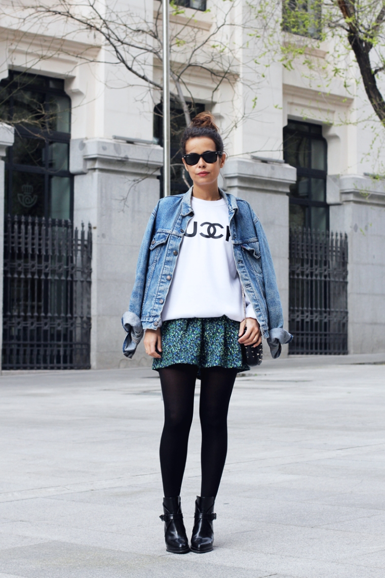 1366259051Fuck_Sweatshirt-Denim_Jacket-Levis-Floral_skirt_oliveclothing-Outfit-Street_Style-11