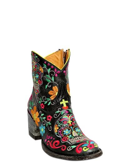 mexiacana boots caveira